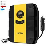 Hippih Car Air Pump- 12V DC 150PSI Portable Electric Auto Air Compressor Pump and Car Tire Inflator (Mechanical Watch) 003 from Hippih