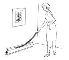 Brushtech Radiator and Baseboard Heater Cleaning Brush