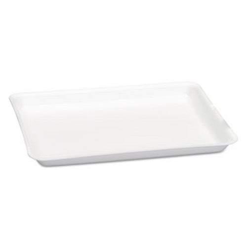 Genpak Premium Foam 9H Processor/Heavy Supermarket Tray White, 12.25