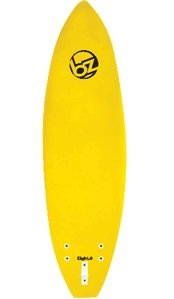 BZ SOFT SURFBOARD NEW MODEL 8 YELLOW