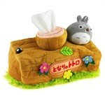 My Neighbor Totoro Figure Soft Plush Bathroom Toilet Paper Tissue Box Cover with Elastic Band
