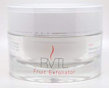 RVTL Natural Fruit Facial Exfoliator, Gently Removes Dead Skin Cells, Best Anti-Aging Skin Cleanser For Face