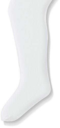 Dance Footed Tight - Jacques Moret Big Girls (8-14) Dance Basic Footed Tight, White, Large