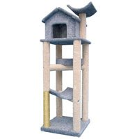 Molly and Friends Treehouse Cat Furniture, X-Large, Beige