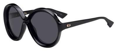 Christian Dior Bianca sunglasses Color 807IR Black w/Gray lenses new