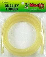Mack's Lure 1/4-Inch Surgical Tubing, Amber, 3-Feet