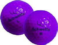 Pair of Schwetty Balls - Purple ()