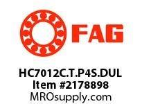 FAG HC7012C.T.P4S.DUL SUPER PRECISION ANGULAR CONTACT BAL