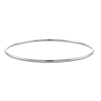Or blanc 18 cts 2 mm à enfiler-jonc-JewelryWeb 7 ""