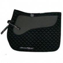 Airflow Non-Slip Dressage Saddle Pad Black