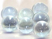 Clear Glass Marbles 1/2