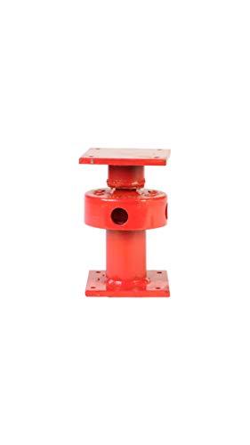 - Ellis Manufacturing Company Mini Screw Jack - Adjustable Support Jack - Range of Adjustment 2.5