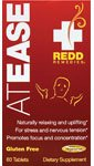 Redd Remedies At Ease - Natural Anxiety Relief Supplement - Promotes Healthy Brain Function - Naturally Relaxes The Body For Sleep - 80 Tablets