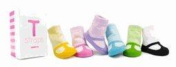 Trumpette Baby Socks - T Straps Maryjanes (0-12 months)