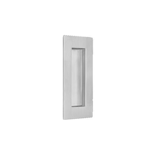 Stainless Steel Cup Pulls - Omnia 7506 Flush Pull 4