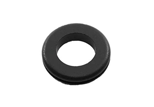 Inner Diameter 1 Pkg of 12 Push-in Grommet Fits Panel Thickness 3//32 SBR Rubber- Fits Panel Hole 1 3//8 Inch