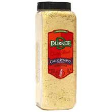 Durkee Garlic Romano Sprinkle - 19 oz. container, 6 per case (Garlic Romano)