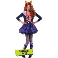 Clawdeen Wolf Costume Deluxe Monster High Girls