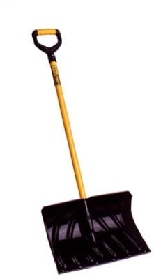 Suncast SCF2950 20-Inch Industrial-Grade Poly Shovel/Pusher With Cushion D-Grip Handle