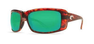 Costa Del Mar Caballito Sunglasses, Tortoise, Green Mirror 400G Lens ()
