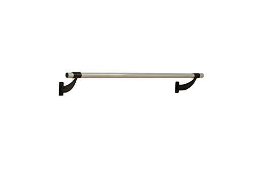 Vita Vibe Ballet Barre - WS48-P 4ft. Single Bar Collared Aluminum Fixed Height Wall Mount Ballet Bar - Stretch/Dance Bar - USA Made by Vita Vibe Wall Mount Ballet Barres