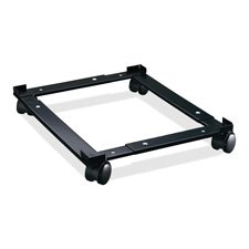 Lorell Adjustable File Caddy, 11-3/8 by 16-5/8 by 4-Inch, Black
