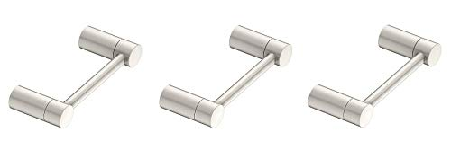 Moen YB0408BN Align Toilet Paper Holder, Brushed Nickel (3-(Pack))