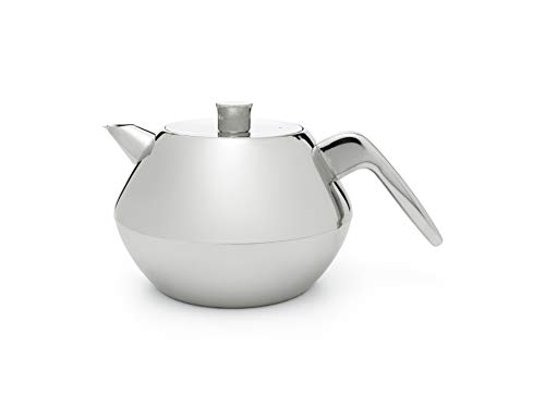 (Bredemeijer 41 fl. oz. Teapot Double Wall Stainless Sven)