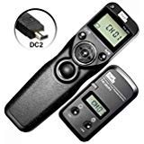 PIXEL FSK 2.4GHz Wired or Wireless Timer Shutter Remote Control for Nikon...