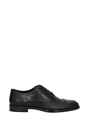 Piel Negro amp;Gabbana EU Dolce A20091AH378 Hombre Mocasines qwf1F7n
