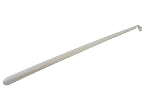 Horn Use Shoe - Home-X Extra Long Metal Shoehorn, 31.5 Inch Long Shoe Horn - Convenient and Easy to Use, No Excessive Bending