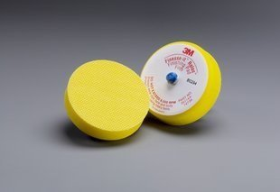 3M Superbuff Yellow Foam Pad - Hook & Loop Attachment 3 in Dia - 6000 Maximum RPM - 51168 [PRICE is per PAD] (Superbuff Buffing Pad)