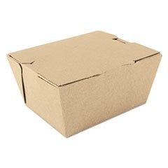 ChampPak Carryout Boxes, Brown, 4 3/8 x 3 1/2 x 2 1/2, 450/Carton -