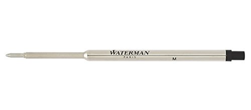 Medium Black Ballpoint Refill (WATERMAN Ballpoint Pen Refill, Medium Point, Black Ink (834254))
