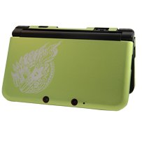 Monster Hunter 3 Ultimate 3DS XL Green Limited Aluminum Armor Cover Case Capcom