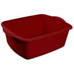 Sterilite 06575812, 12-Quart Dish Pan, 2-Pack, Red