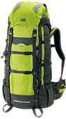 Front and Top Load Adrenaline 6,500 Cu in Backpack By High Peak, Outdoor Stuffs