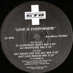 GTO - Love Is Everywhere - NovaMute - 12NOMU8