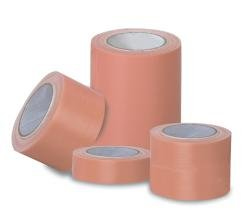 "Hy-Tape Pink Zinc Oxide Tape, Multicut Hospital Tubes - 1/2"" x 5 yd, Pack of 3"