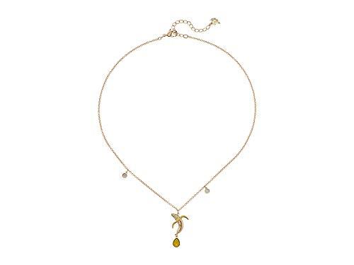 - Swarovski No Regrets Banana Pendant, Gold Plating, 5457504