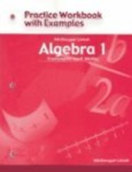 McDougal Littell Algebra 1: Concepts and Skills- Practice Workbook with Examples