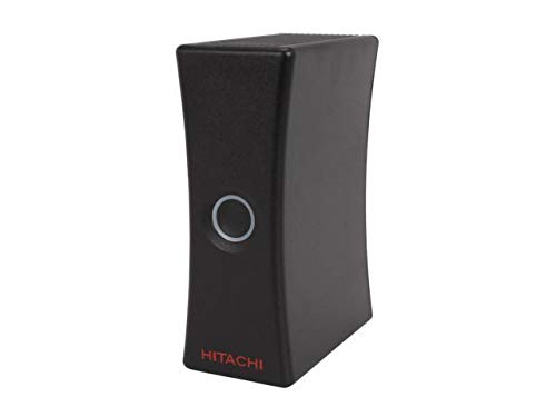 Hitachi H3640U 640GB USB External Hard Drive - Black