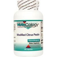 Nutricology/ Allergy Research Group Modified Citrus Pectin, 120 Caps (Pack of 3) by -