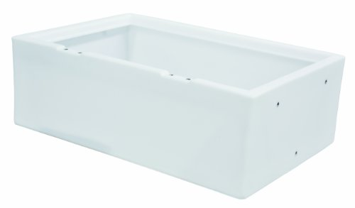 (Wise 8WD125FF-1B-204 32-Inch Pontoon Flip-Flop Bench Seat Base, White)