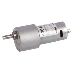 Miniature spur gear motor SF with DC-motor 24V i=10:1 idle speed 610 - Sf Miniatures