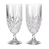 Godinger Dublin Crystal Set of 12 Iced Beverage Glasses -