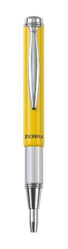 Zebra Pen 72765 Telescopic Brights Ballpoint - Yellow
