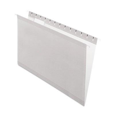 Reinforced Hanging Folders, 1/5 Tab, Legal, Gray, 25/Box by Pendaflex