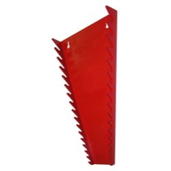 Wrench Holder with 16 Slots 16 TOOL WRENCH RACK RED PLASTIC