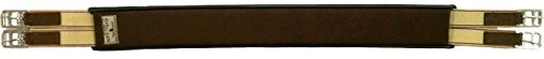 Classic Equine Soft Touch Straight Jump Girth Brown 56'' by Classic Equine